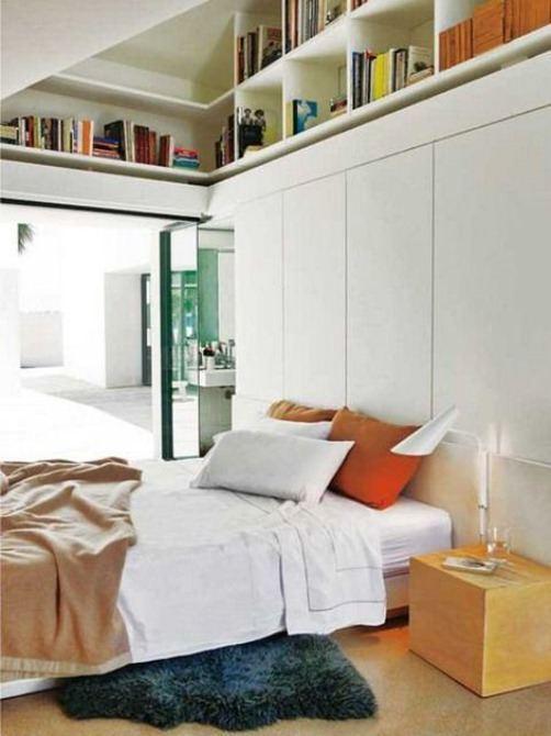 C mo guardar cosas en los dormitorios con estilo - Aprovechar espacios pequenos dormitorios ...