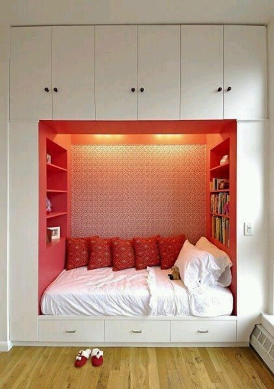 Cómo guardar cosas en los dormitorios con estilo - BlogDecoraciones