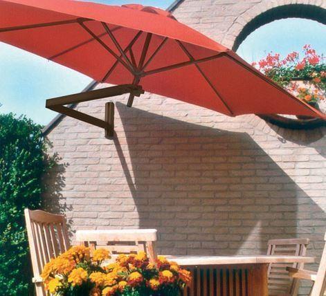 Parasoles y sombrillas de brazo o exc ntricos for Alcampo sombrillas terraza