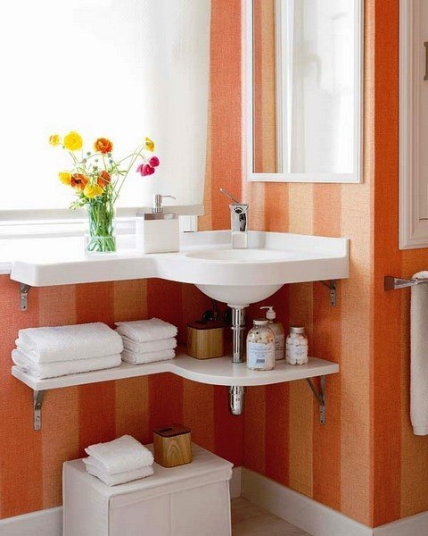 Decoracion De Baños Fotos Pequenos:Bathroom Under Sink Storage Ideas