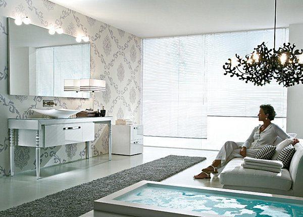 Tendencias en el papel pintado para paredes blogdecoraciones - Papel para salones ...