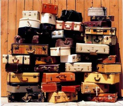 Decoraci n vintage con maletas blogdecoraciones for Maletas vintage decoracion
