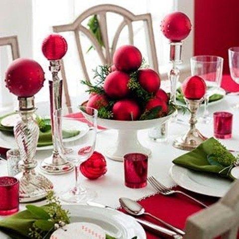 Buenas ideas para mesas de navidad blogdecoraciones for Buenas ideas decoracion